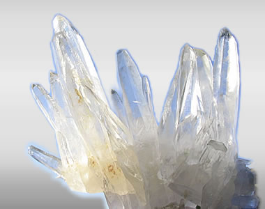 Ma'atena - our mother Lemurian Quartz Crystal Cluster